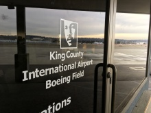 King County International Airport Boeing Field logo