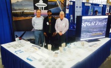 KCIA/Boeing Field employees staf the Airport's booth at the Northwest Aviation Conference & Trade Show.