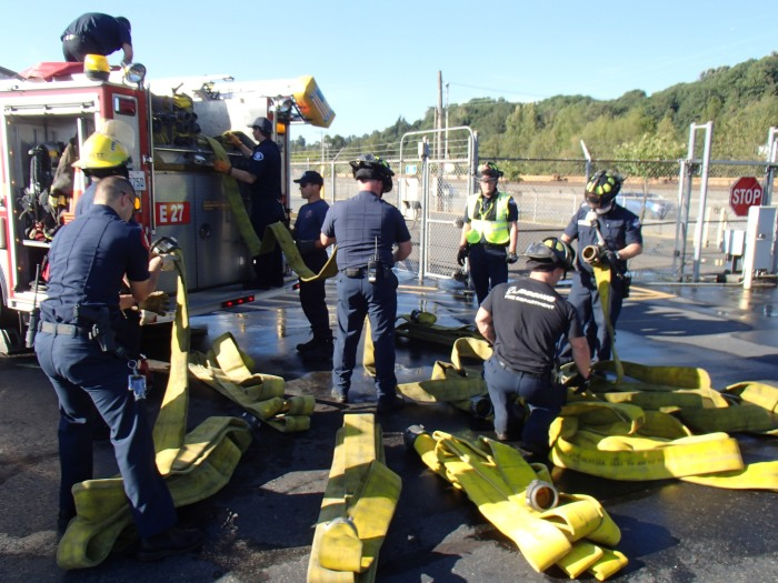 ARFF Water Training 3