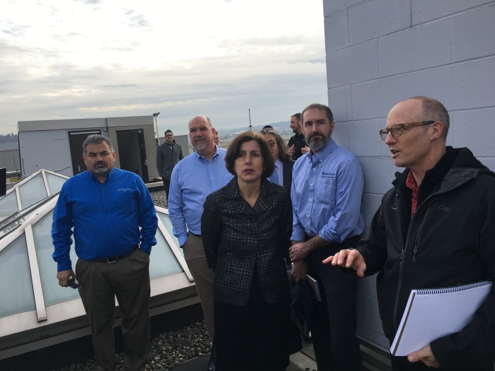 Maria Vargas, Director of the U.S. Department of Energy's Better Buildings Challenge, discusses efforts by King County International Airport/Boeing Field to improve energy efficiency.