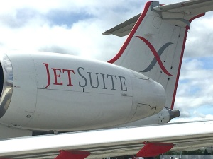 JetSuiteX Aircraft Tail